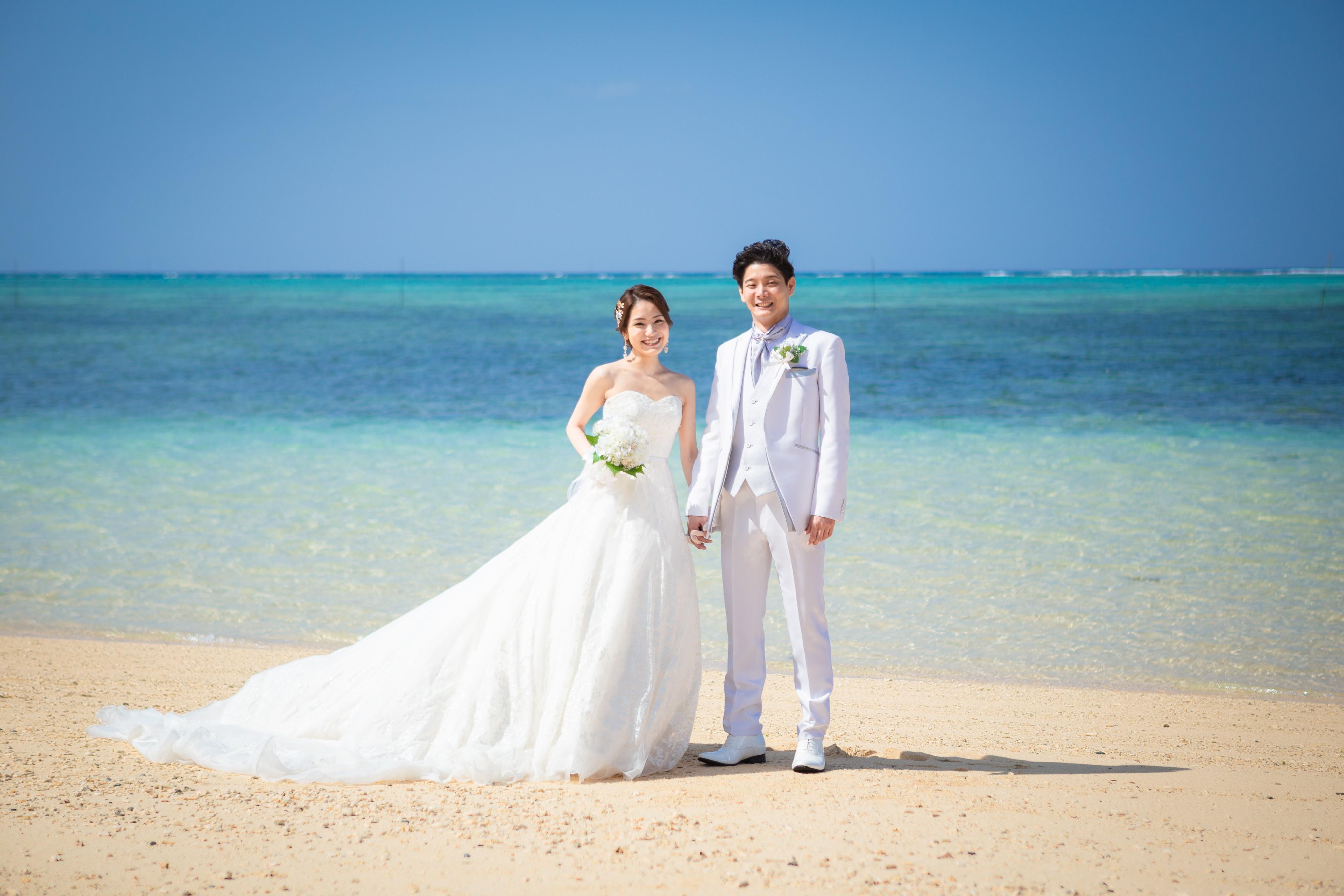 沖縄 リゾートウェディング ドレス レンタル 都内