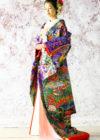 JUK114   梅牡丹に水鳥の画像1縮小