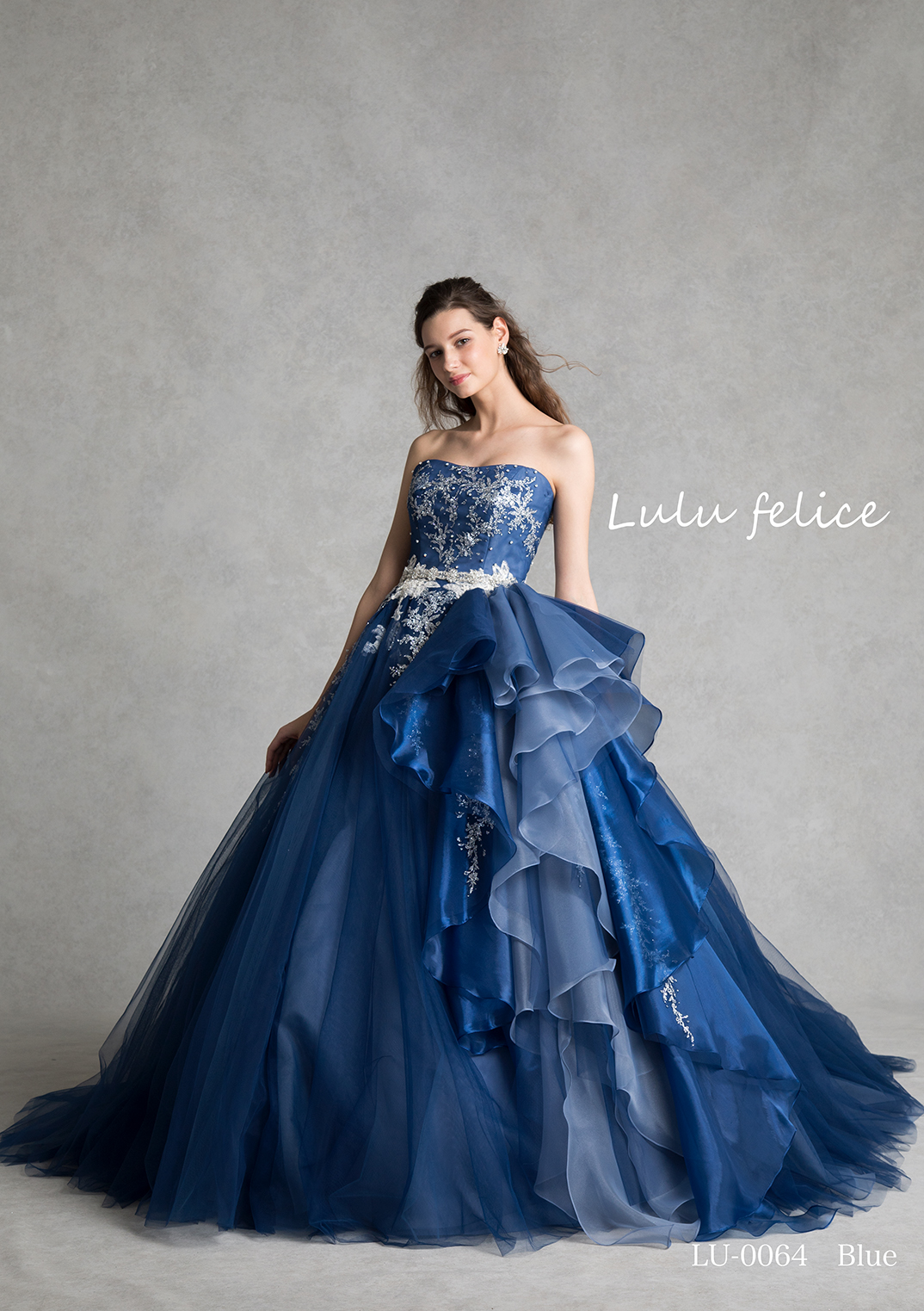 【Lulu felice】CD0359 blue LU0064