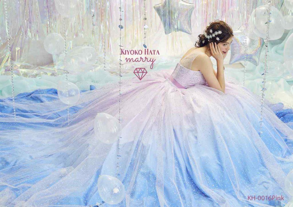 KIYOKOHATA×marry KH0016 Pink シャーベットドレス