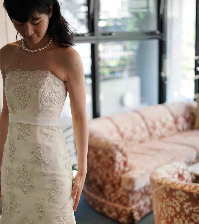 お背が高くモデルさんの様で、マーメイドラインがとてもよく似合ってらっしゃいました。あらためてラインの美しさを感じさせていただきました。 #ブライダルヒロ #bridalhiro#ウェディングドレス#ウェディングドレスレンタル #ドレス撮影 #結婚式#ブライダル#プレ花嫁#全国のプレ花嫁さんと繋がりたい