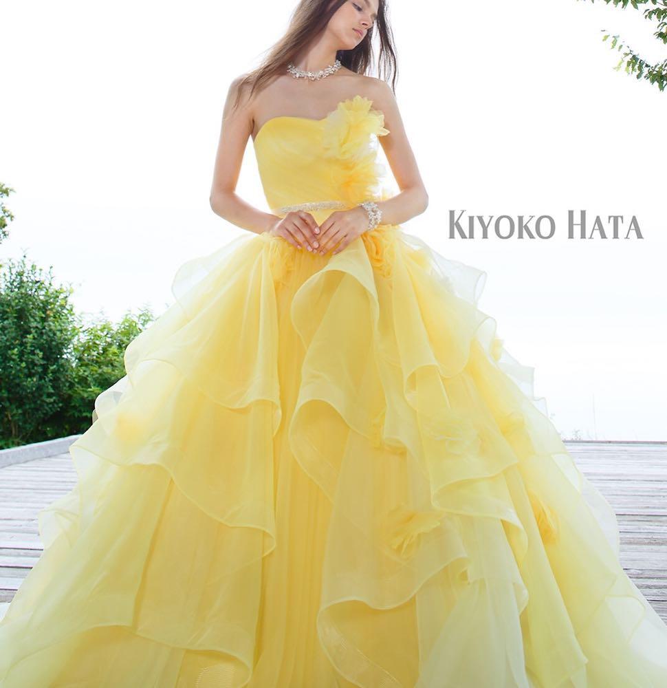 ブライダルヒロです#キヨコハタ のイエロードレス入荷しましたナチュラルに揺れるパイピングスカートがかわいいだけじゃなく、会場を明るい雰囲気にしてくれるような爽やかなカラードレスです.#ブライダルヒロ#bridalhiro #ウェディングドレス#カラードレス#カラードレス試着#カラードレスレンタル#イエロードレス#kiyokohata  #kiyokohataドレス #キヨコハタドレス #ドレスレンタル#ドレスショップ#ドレス試着#プレ花嫁#全国のプレ花嫁さんと繋がりたい #全国の花嫁さんと繋がりたい#結婚式#披露宴#ブライダル#お色直し#ドレス迷子#ドレス迷子の花嫁さんを救いたい#東京#東京都目黒区