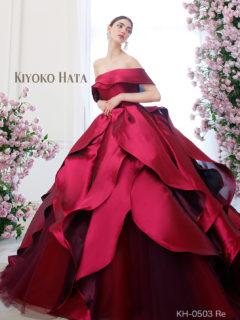 キヨコハタの新作人気ドレス